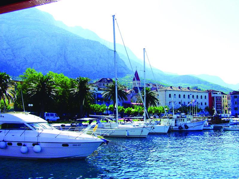 Makarska - prístav