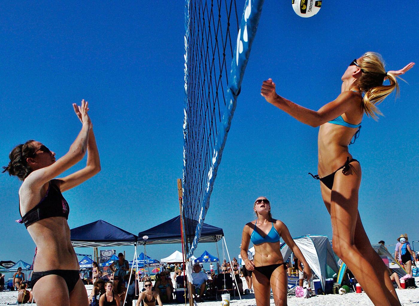 Bibione, Taliansko, plážový volejbal