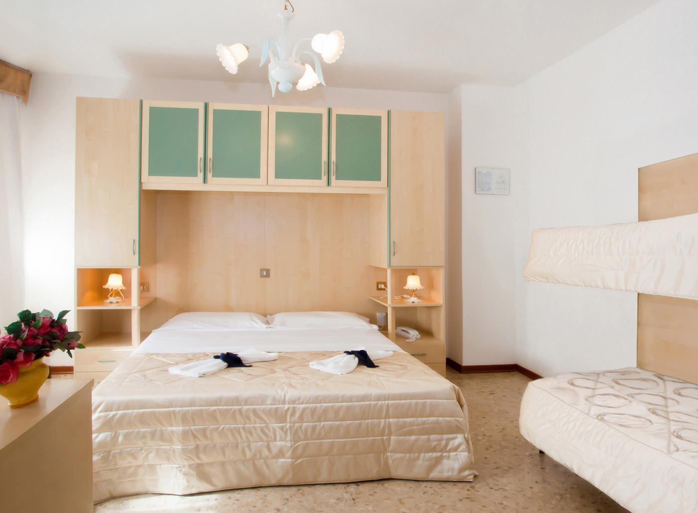 hotel Playa, Bibione, Taliansko izba