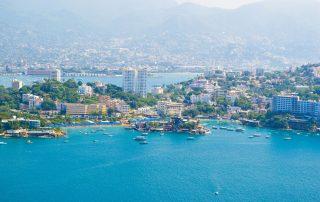 Acapulco, Mexiko - dovolenka