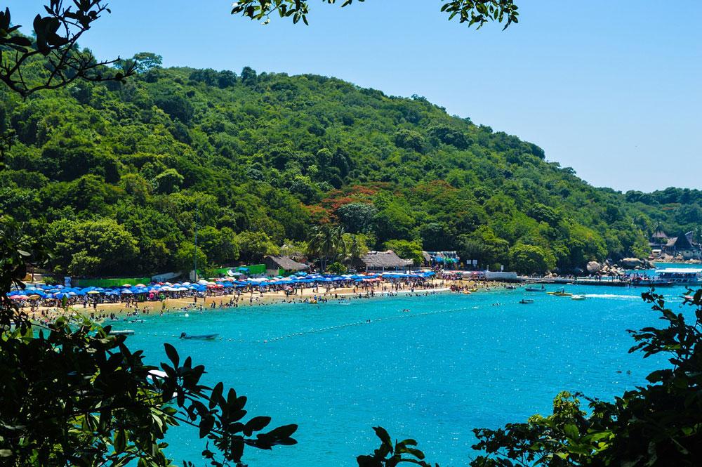 Acapulco, Mexiko, pláž