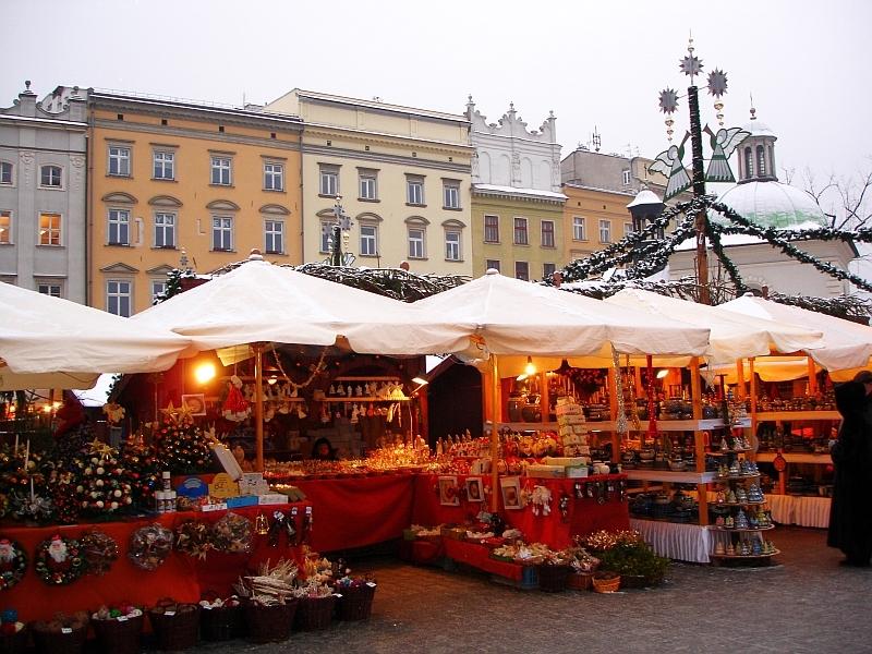 Krakow vianočné trhy