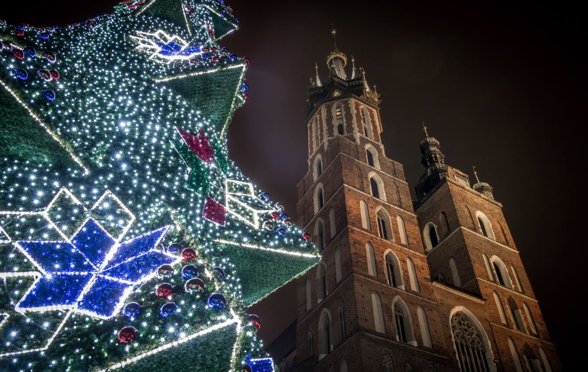Krakow vianoce