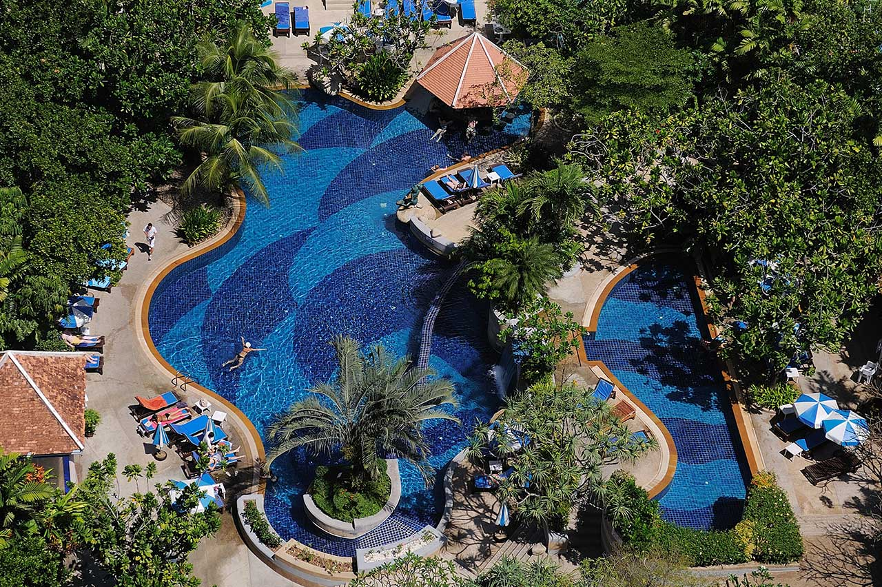 Thajsko Phuket, Hotel Royal Paradise SPA Resort