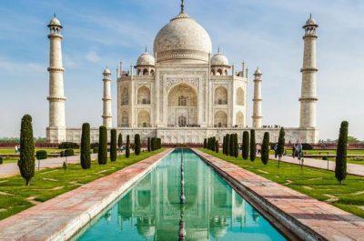 dovolenka v Indii - Taj Mahal