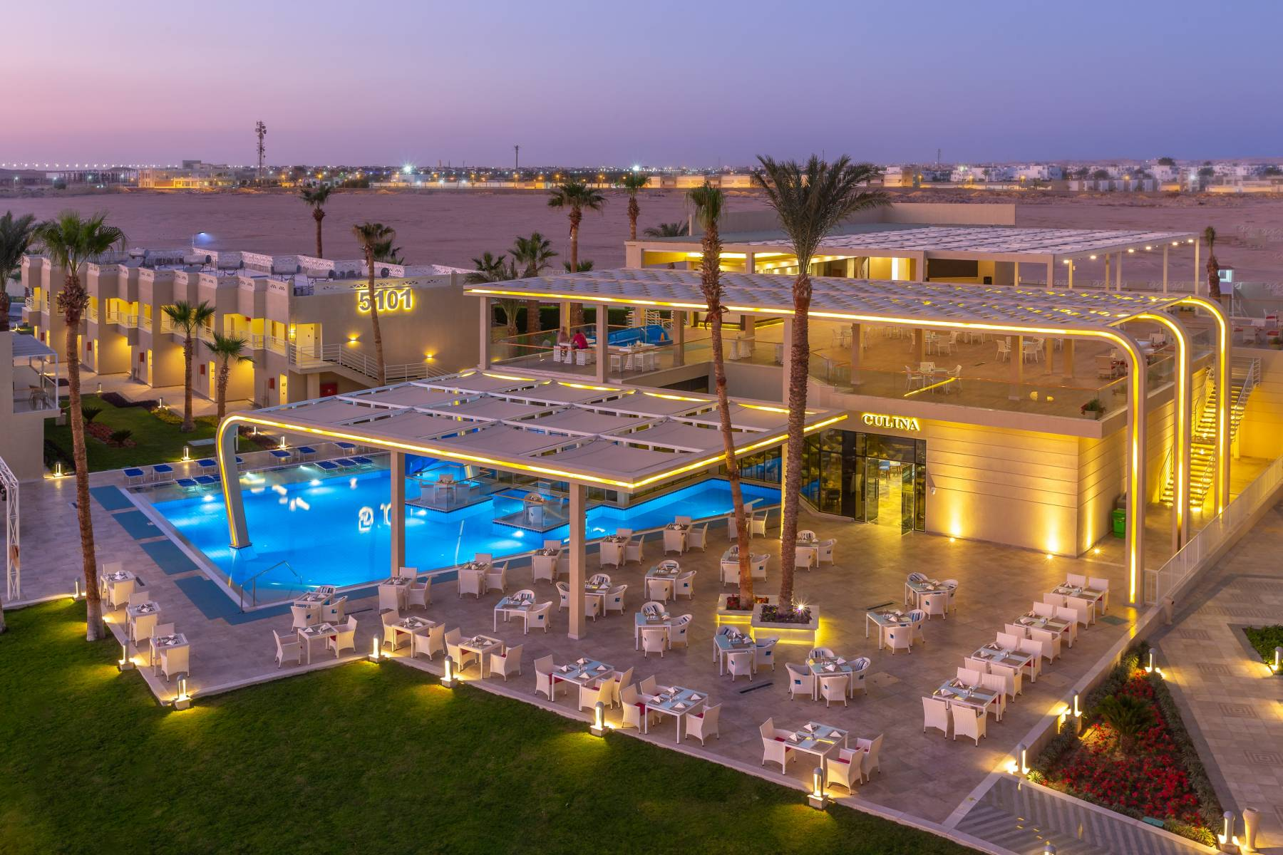 Egypt, Hurghada, Beach Albatros Resort