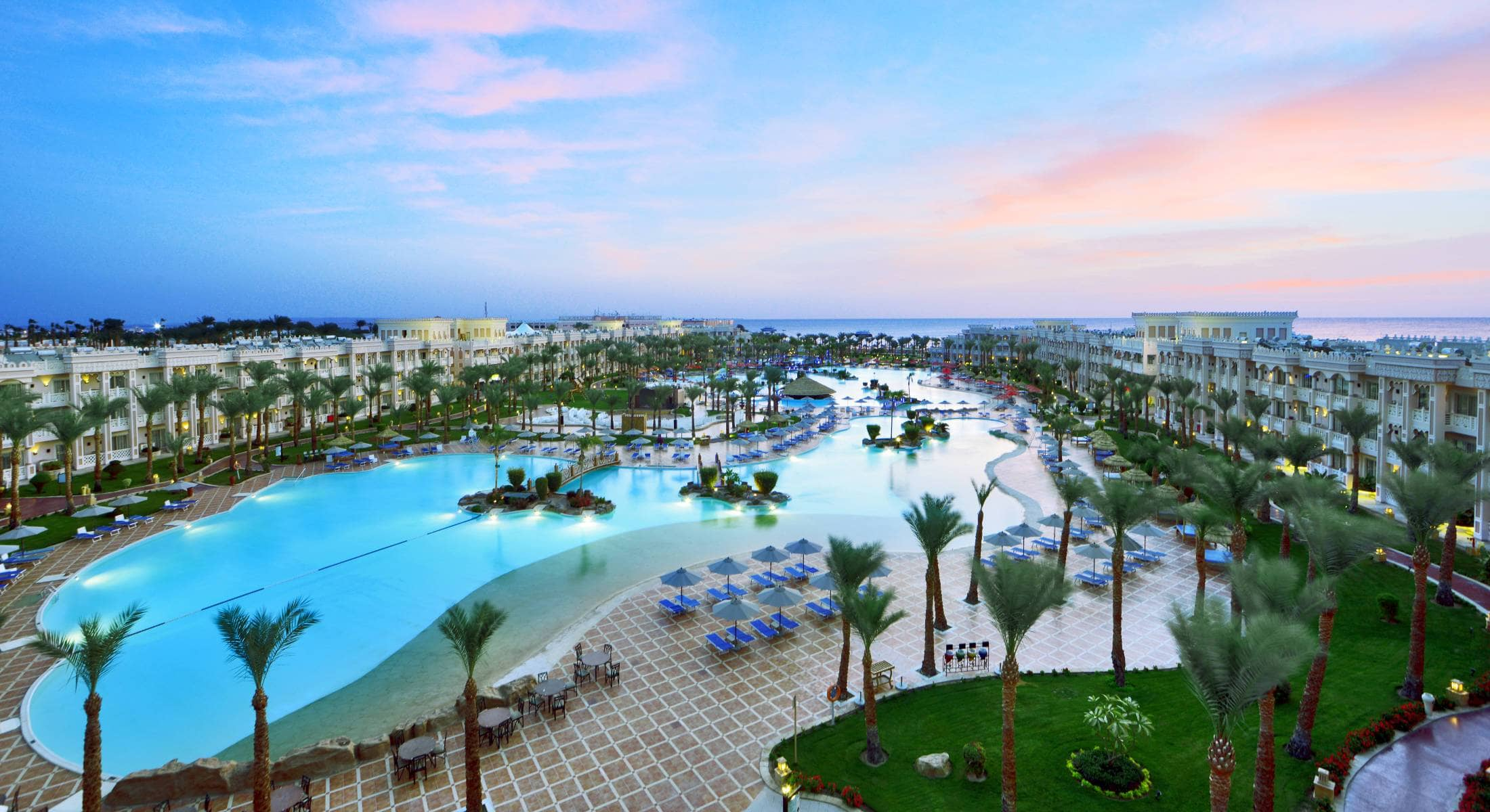 dovolenka Egypt, Hurghada - Albatros Palace